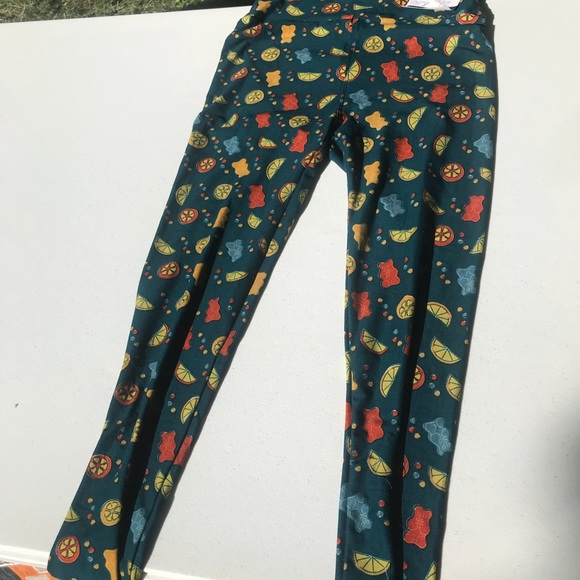 8aa41c69e2 Lularoe gummy bear and fruit leggings
